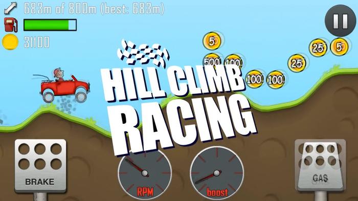 لعبة 2 hill climb racing مهكرة من ميديا فاير