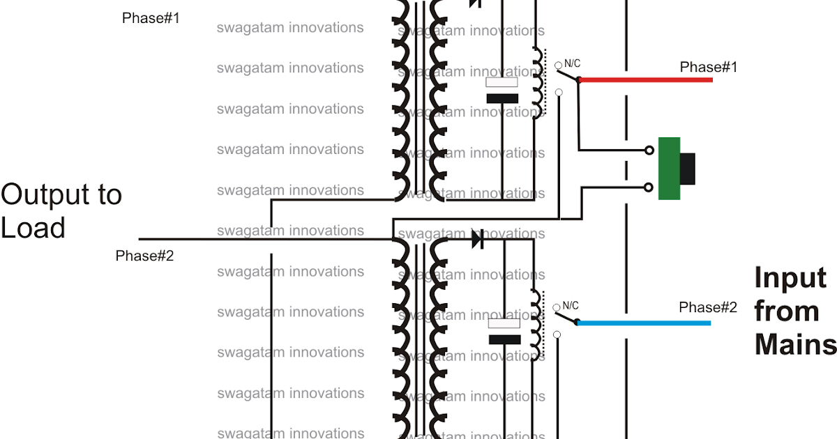 Single Phase Preventor Circuit Electronic Circuit Projects