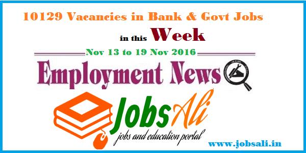 vacancies in Bank and Govt Jobs