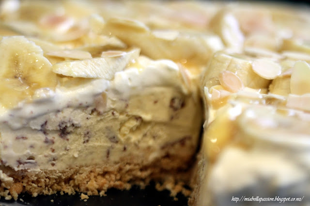 Banoffee Icecream Tart