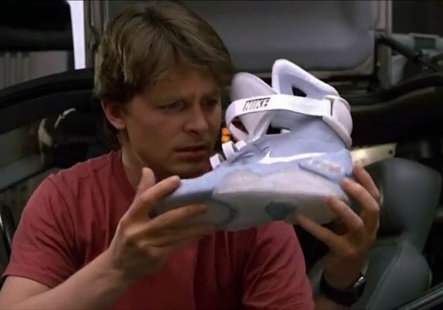 Nike pondrá en venta tenis inspirados en Volver al Futuro II