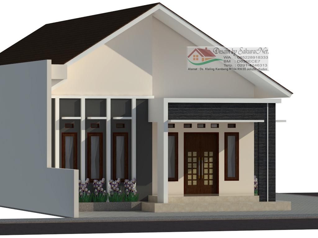 Desain 3D Rumah By SakuraNet Jasa Desain Rumah Minimalis Kudus 8