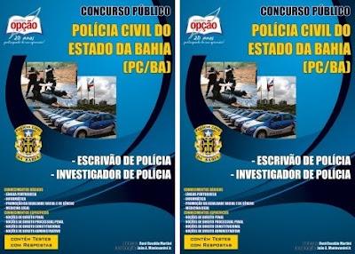 Apostila Concurso da PC-BA - Polícia Civil da Bahia 2018 (Escrivão de Polícia e Investigador de Polícia)