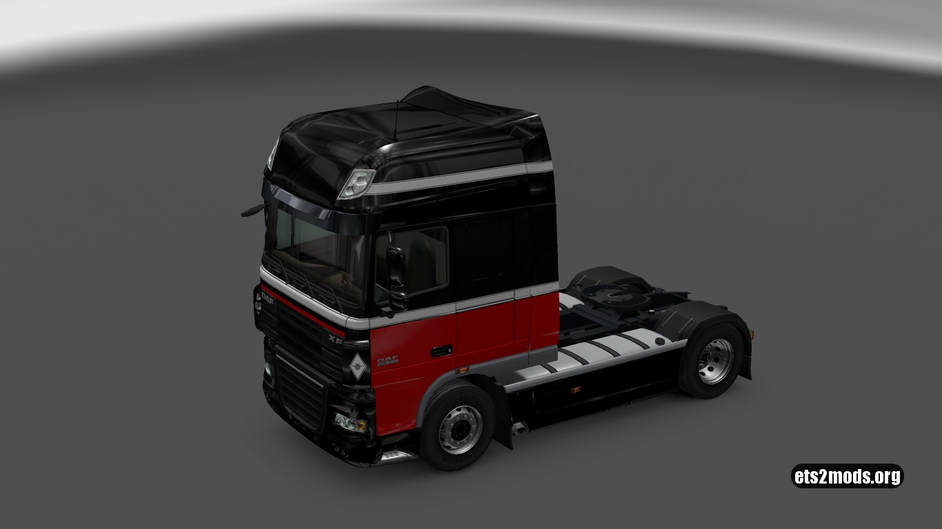 J.van der Berg Skin for DAF XF