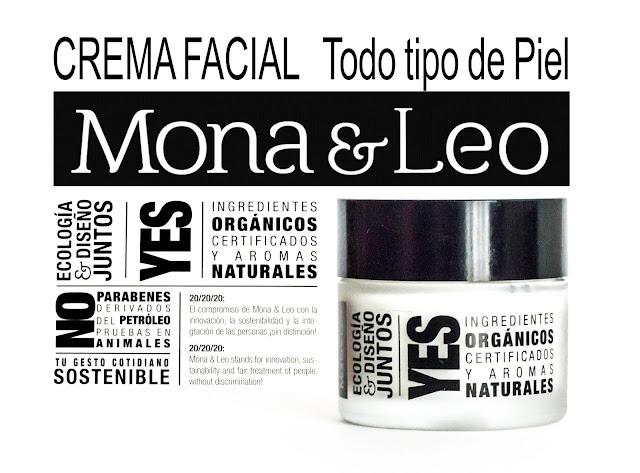 Mona&Leo, crema facial para todo tipo de pieles. IV Beauty & Breakfast.