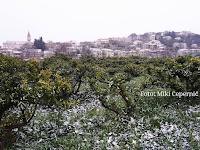 snijeg Postira slike otok Brač Online
