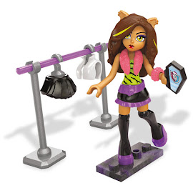 MH Clawsome Fashion Clawdeen Wolf Mega Blocks Figure