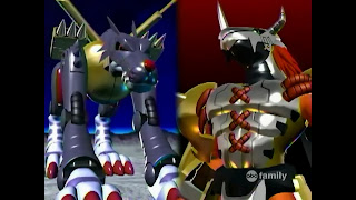 Digimon Adventure Digital Monsters Mega MetalGarurumon WarGreymon