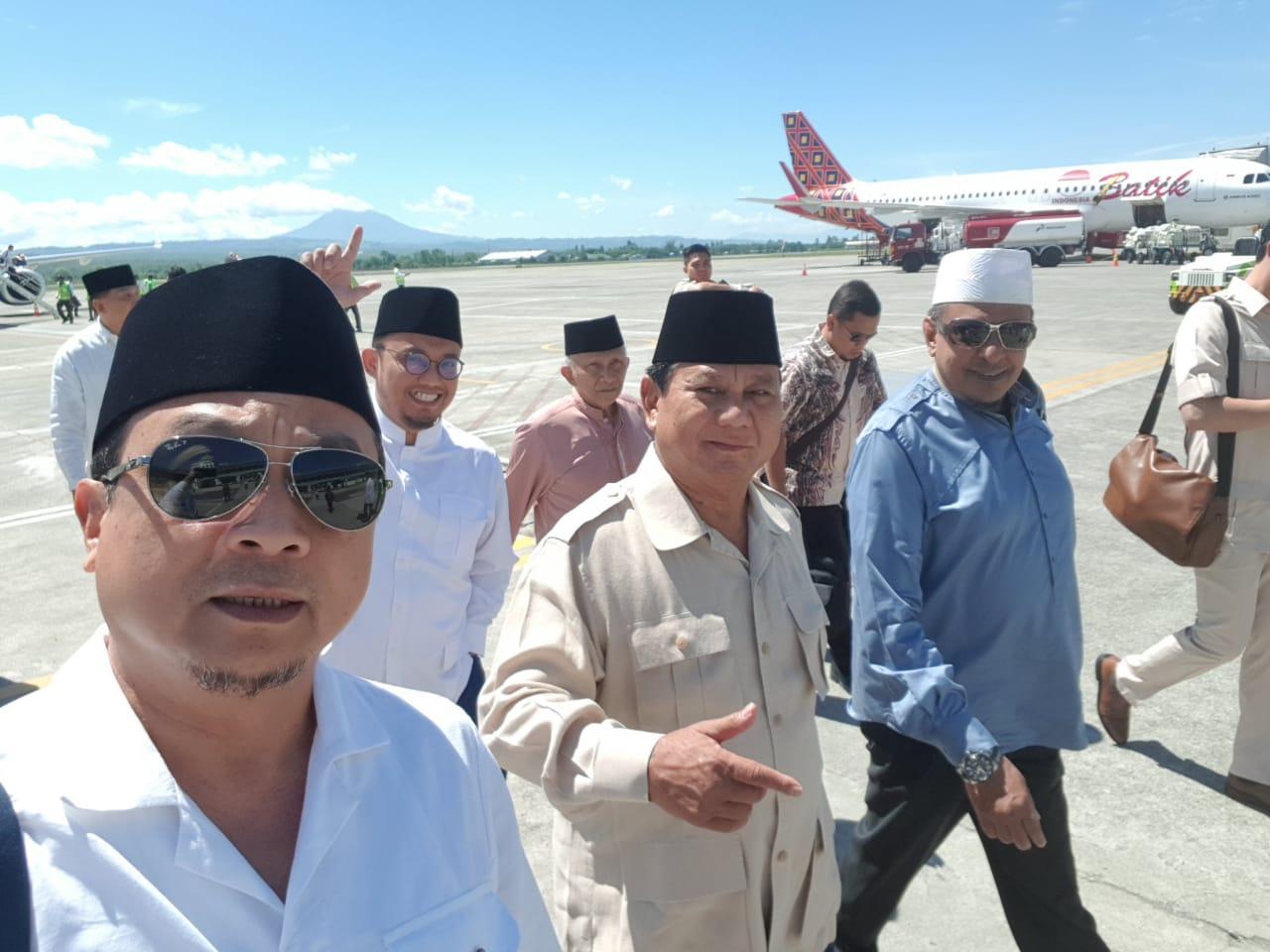 Penuhi Undangan Ulama Aceh, Prabowo Mulai Aksi #KedaulatanRakyat