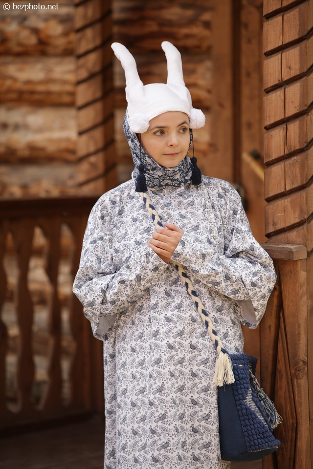 народные костюмы рязанской области