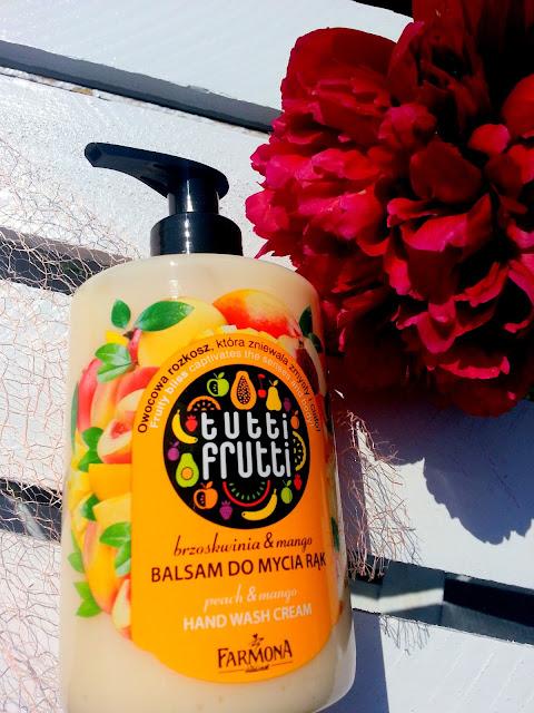Tutti Frutti, Balsam do mycia rąk brzoskwinia & mango