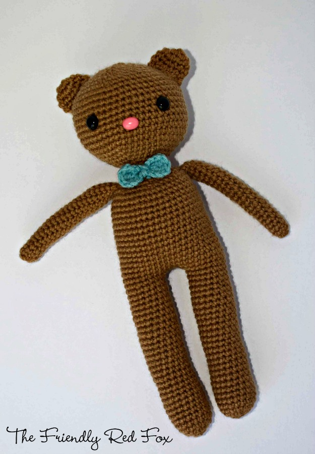 Crochet Amigurumi Bear Pattern Thefriendlyredfox
