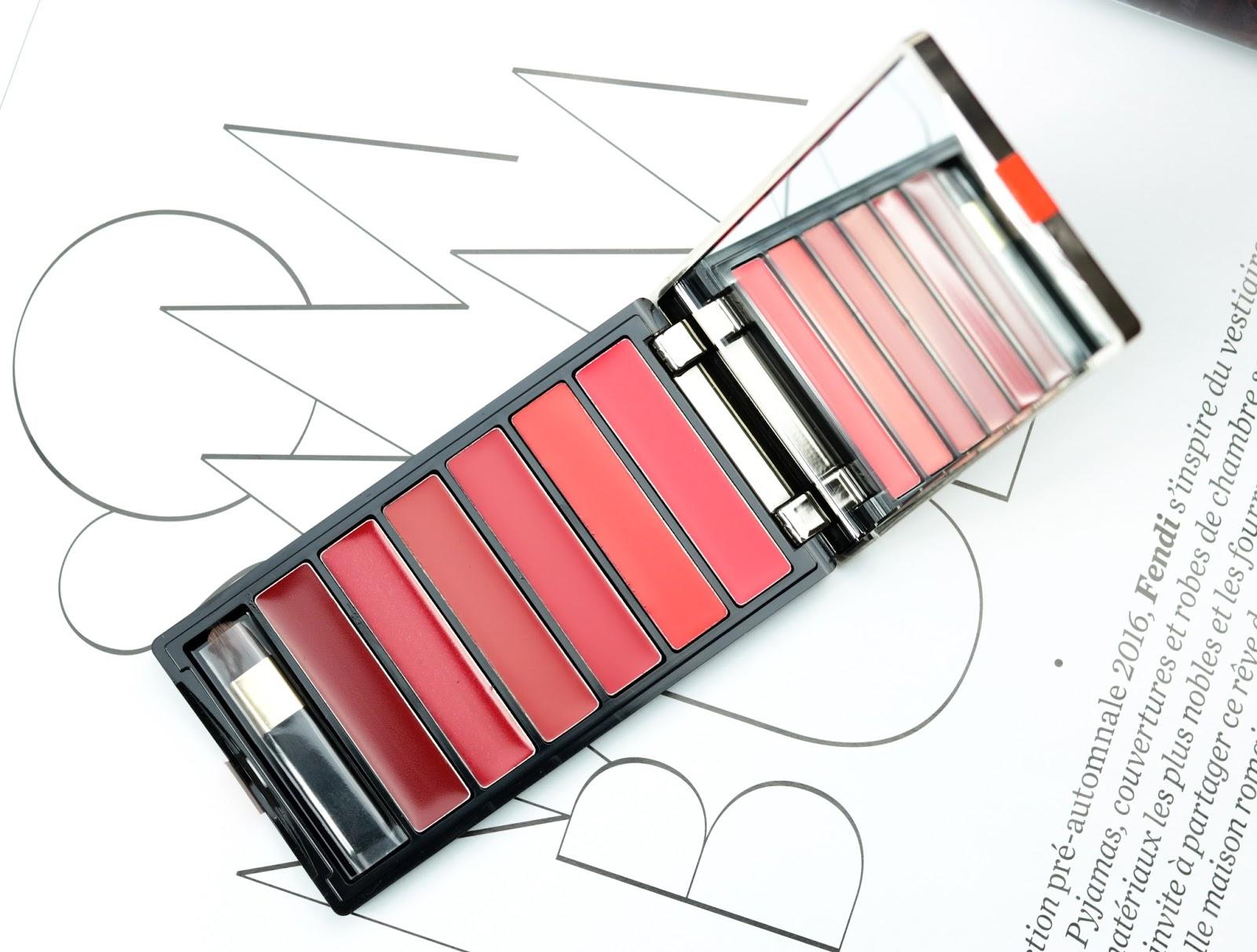 Color Riche de L'Oréal La palette lèvres  Red et Swatch