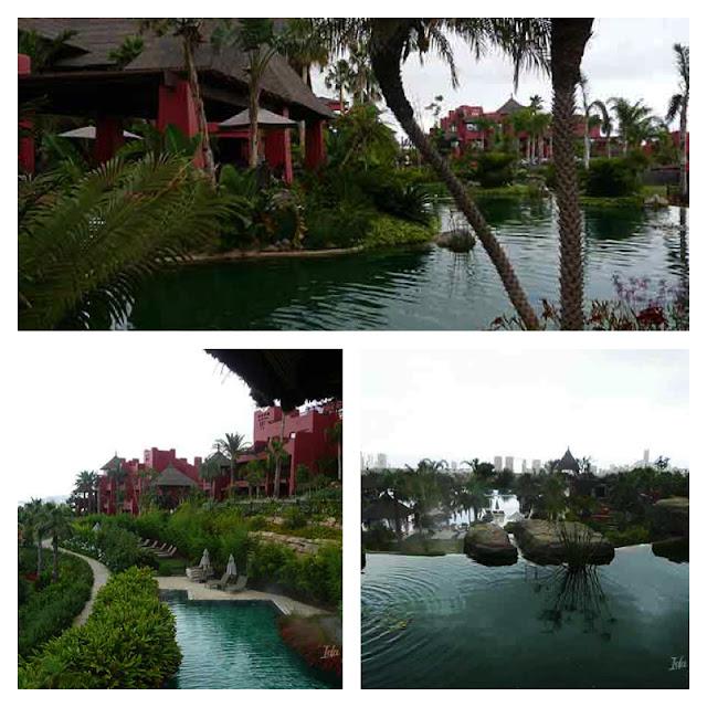 Piscinas del hotel Asia Gardens
