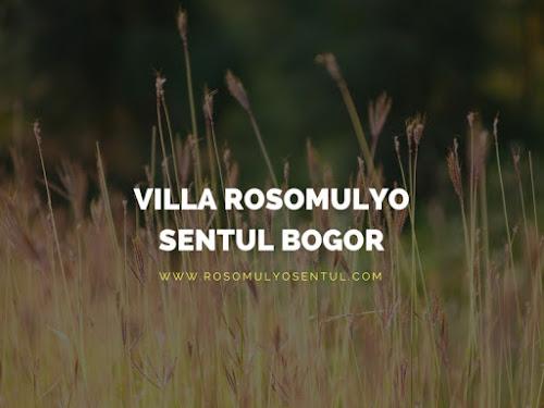 [Outbound Sentul]: Harga Paket Outbound Villa Rosomulyo Sentul Bogor