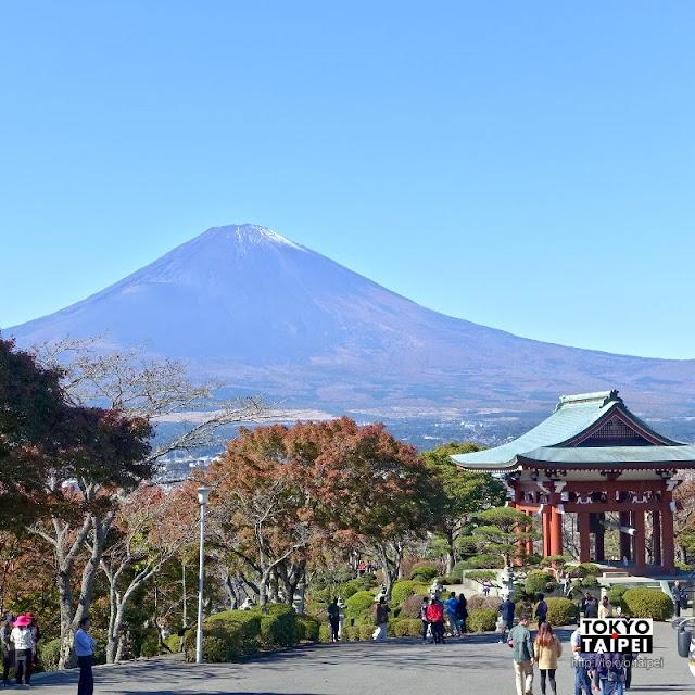 【平和公園】祈願和平的佛舍利塔 眺望富士山絕景