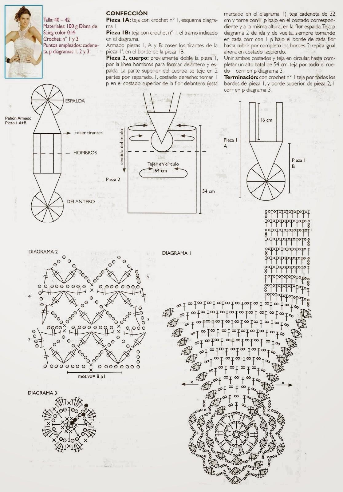 Dorable Damas Crochet Patrones De Tapas Bandera - Ideas de Patrones ...