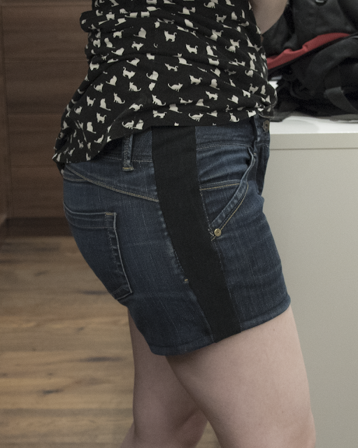 Minnsthings DIY How to make small shorts bigger