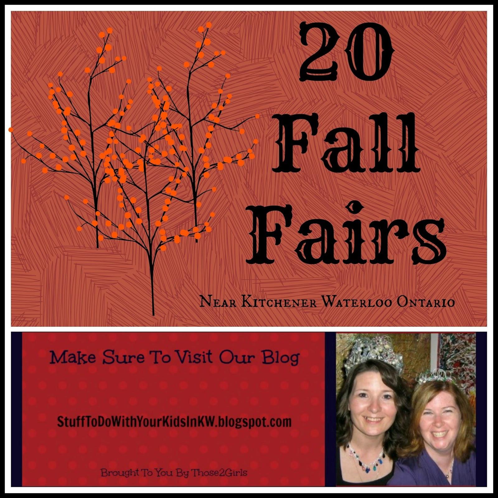 Fairs In Kitchener Waterloo