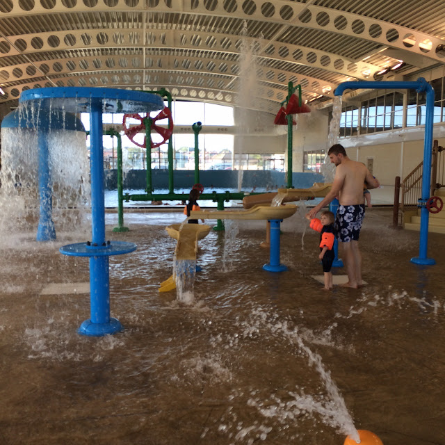 Splash area, alpamare waterpark  Scarborough