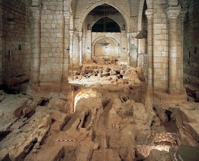 Resultado de imagen de catacumbas basílica de santa eulalia mérida