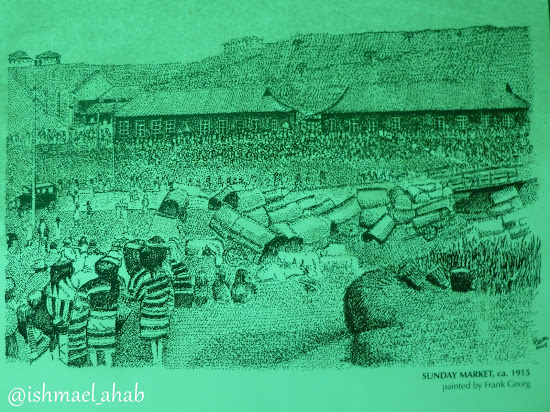 Baguio Sunday Market in 1915
