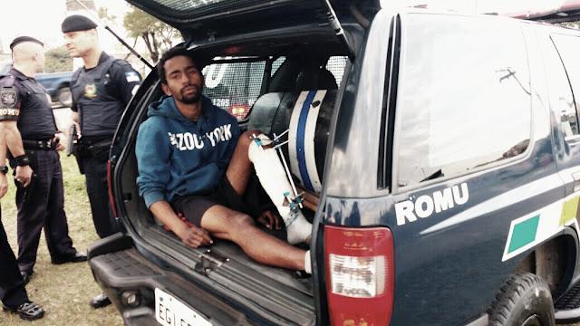 Em apoio a Polícia Civil, ROMU e ROMO de Santo André detém foragidos da justiça