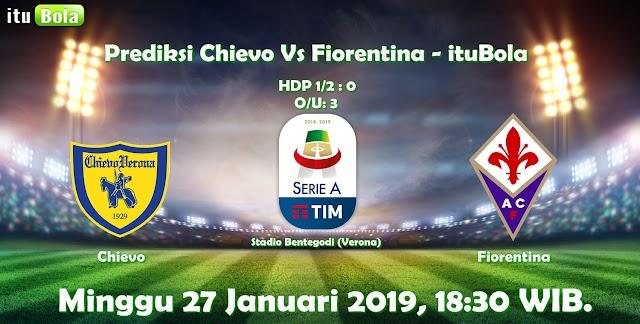 Prediksi Chievo Vs Fiorentina - ituBola