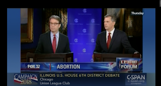 "6th CD Democrats' debate comment ""Abortion is like gall bladder surgery"" sets off firestorm"