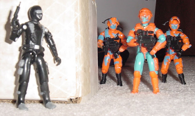 1997 Snake Eyes, TRU Exclusive, 1989, 1994 Alley Viper