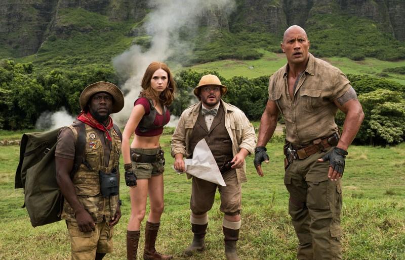 Jumanji: Bem Vindo à Selva, com Dwayne Johnson e Kevin Hart, ganha 2º trailer