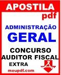 Apostila Administração Geral Auditor Fiscal pdf EXTRA