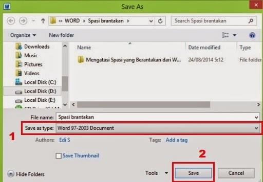 Sobat berguru office apakah pernah mengalami goresan pena pada Microsoft Word awut-awutan  Cara Mengatasi Dan Mencegah Spasi Berantakan Pada MS Word