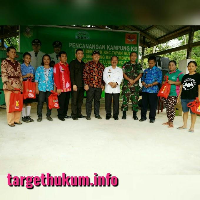 Pencanangan Kampung KB Sebagai Program Terpadu Kab. Sanggau
