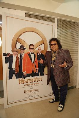 'Kingsman;The Golden Circle': Its Bhappi Lahiri to dub for legendary singer Sir Elton John