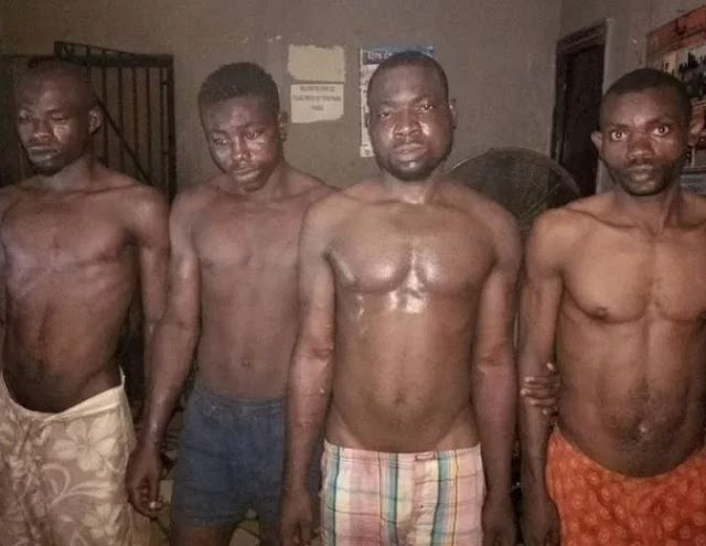 Edo State police command arrest four suspected Boko Haram members (Photo)
