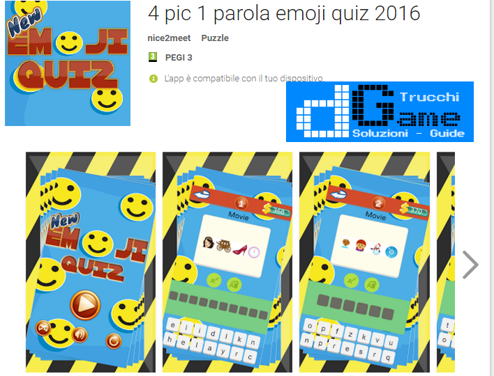Soluzioni 100 Emoji Quiz  livello 51-52-53-54-55-56-57-58-59-60 | Trucchi e Walkthrough level
