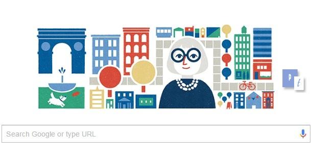 Siapakah Itu Jane Jacobs yang Dijadikan Google Doodle 4 Mei 2016
