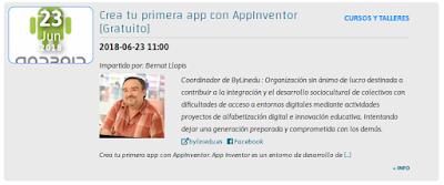 Crea tu primera app con AppInventor