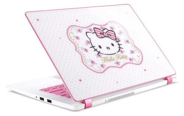 The Acer Limited Edition Hello Kitty Laptop Transports You To Hello Kitty Wonderland