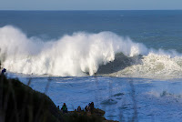7 Line up at Nazare Nazare Challenge foto WSL Laurent Masurel