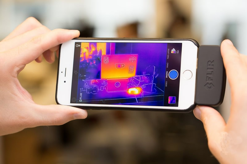 Your phone can see in dark and measure heat