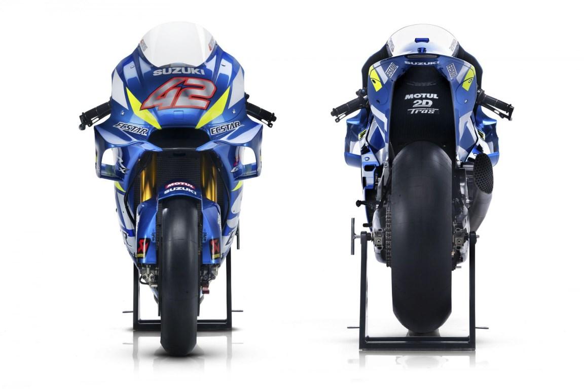 MotoGP : Tim pabrikan Suzuki resmi perkenalkan motor dan livery baru untuk musim 2019
