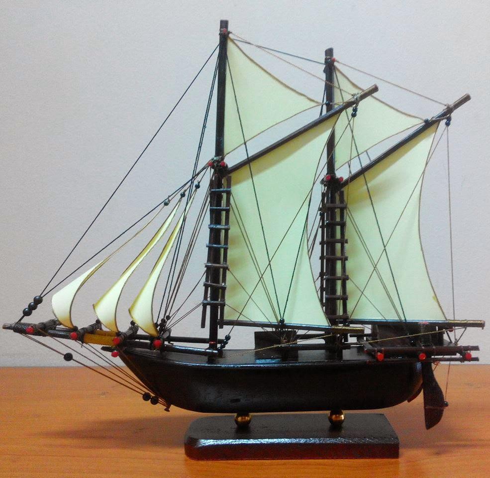 Jual Kerajinan Miniatur Perahu Pinisi
