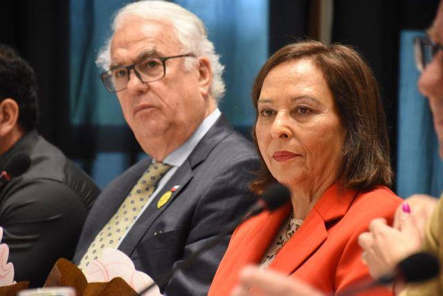 Harry Jürgensen y María Angélica Barraza