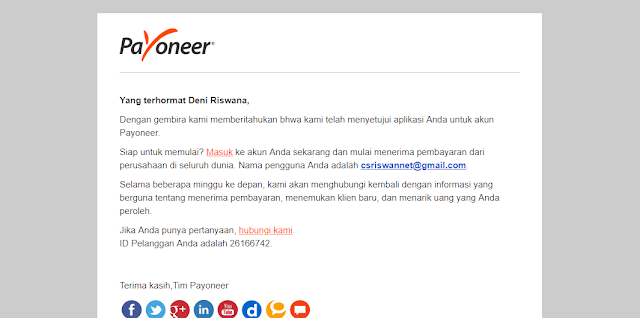 Tutorial Lengkap Daftar Payoneer 2018 - Riswan.net