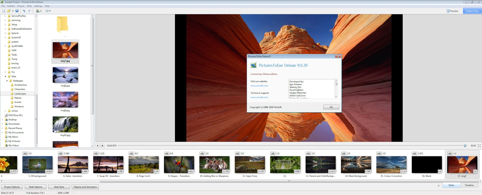 PicturesToExe Deluxe v9.0.22 Full version