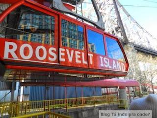 bondinho para a Roosevelt Island
