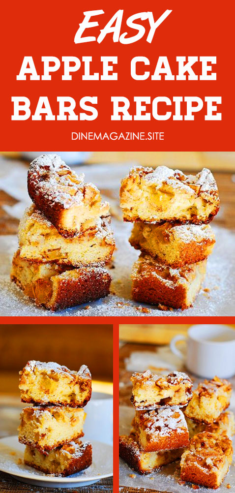 Easy Apple Cake Bars - Cake Bars recipe simple | cake bars recipe holidays | cake bars recipe treats. Cake mix cookies recipes, Party desserts, Cake mix desserts, Easy desserts, Betty crocker cake mix recipes, Cookie bars recipes easy #cakebars #apples #baking #bars #cake #cinnamon #dessert #fruit #yogurt #applecake #partydesserts