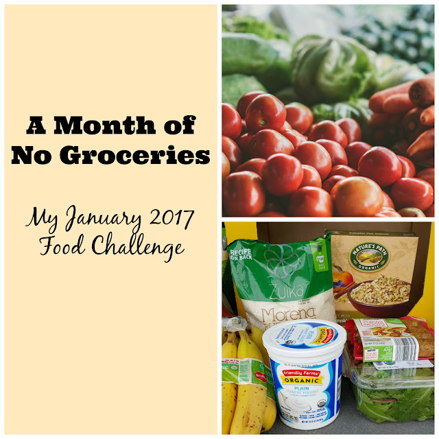 A Month of No Groceries www.HensleeFarmAdventures.com